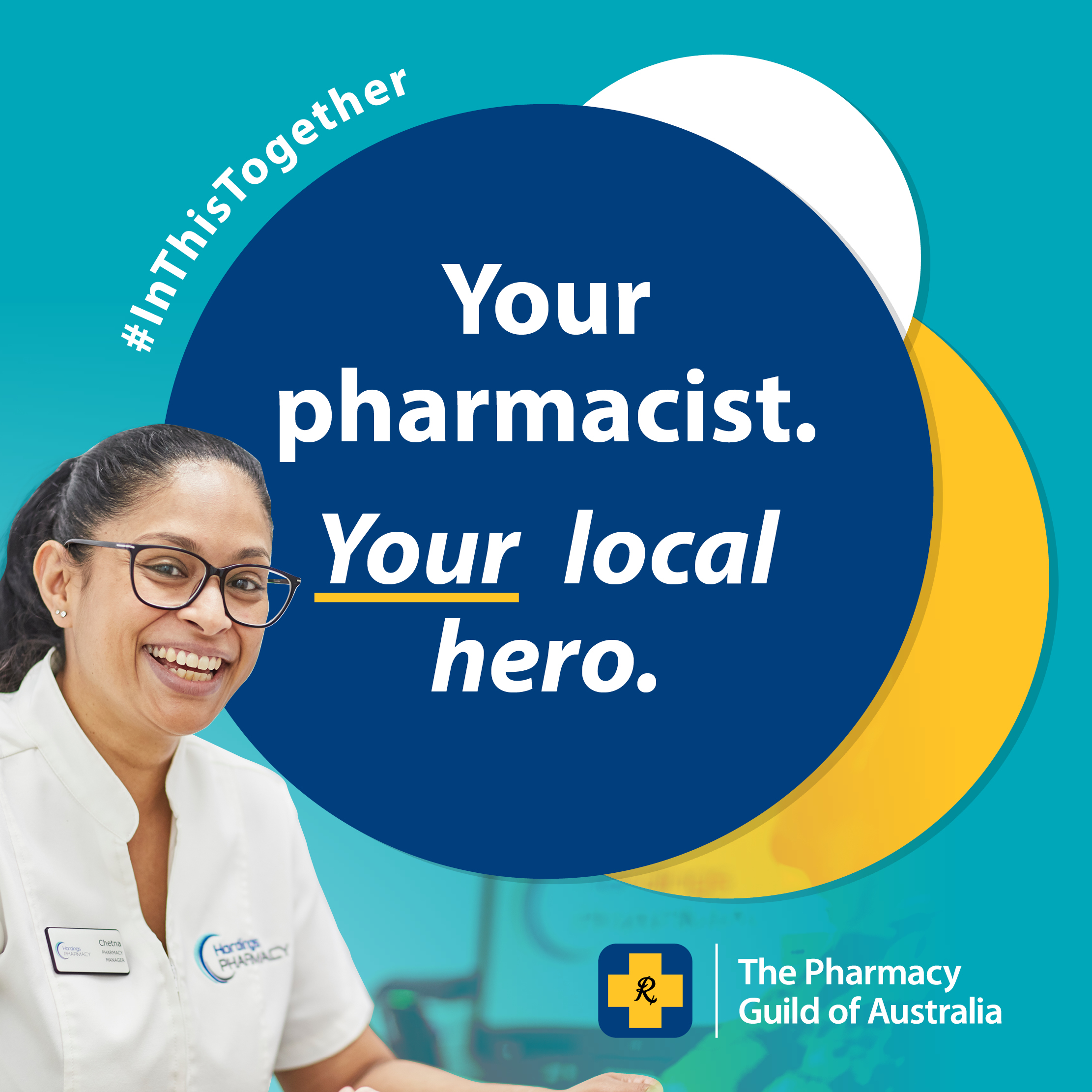 Social Media tile 4 - Your Pharmacist Your Local Hero