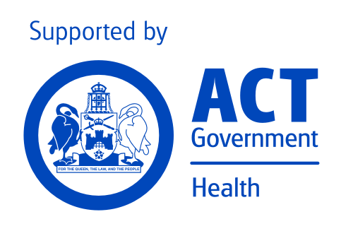 Supported by ACT Government, Health