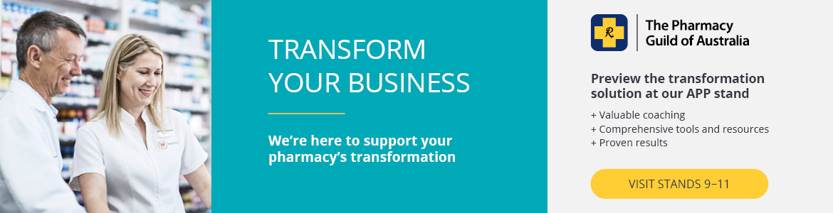 Transform your business. Preview the transformation solution at our APP stand.