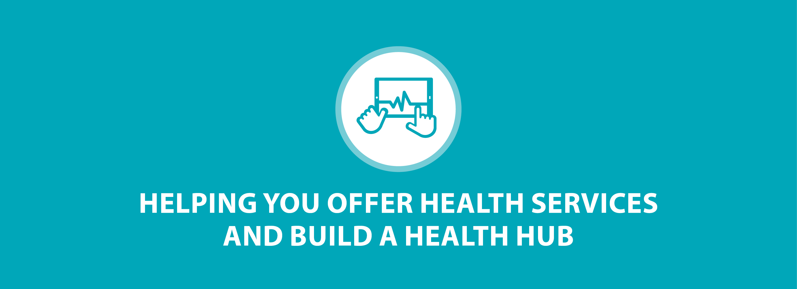 Health Services Header - Teal