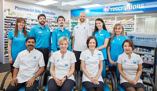 staff from Capital Chemist Chisholm, Australian Capital Territory