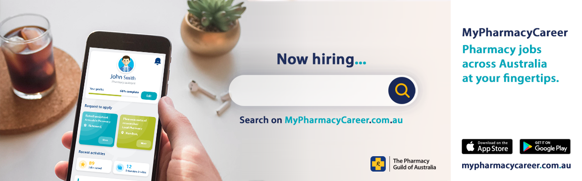 My Pharmacy Career - Now Hiring banner