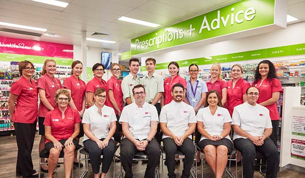 Staff from LiveLife Pharmacy, Bowen New South Wales